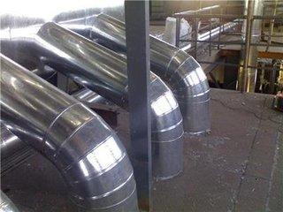 换热站设备管道保温工程防腐岩棉白铁皮保温承包