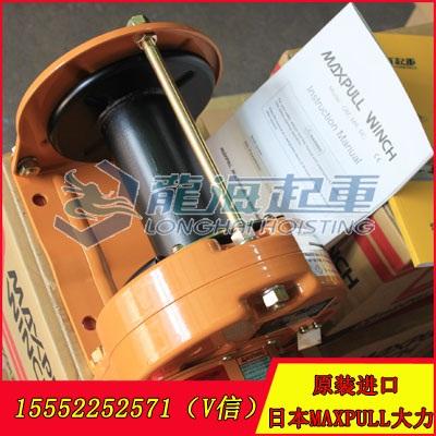 1000kgf GM型大力手动绞盘 汽车户外施救用手动绞盘
