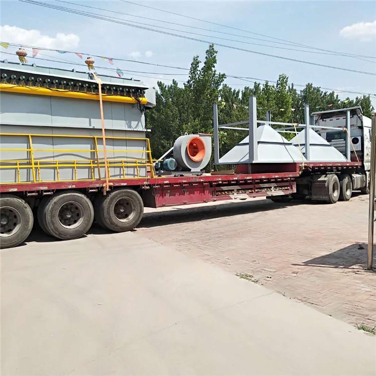 扬州15000风量300袋布袋除尘器在线监测仪配套安装验收