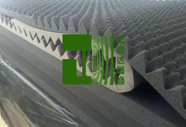 風機消音棉阻燃隔音棉設備隔音材料測試房吸音