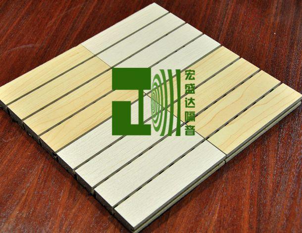 木塑环保吸音板 学校教室吸音板礼堂报告厅吸音材料