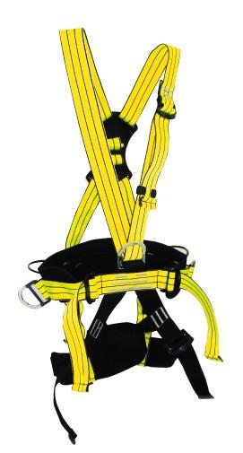 五点式高空作业防护安全带防坠落全身式涤纶无护腰安全绳