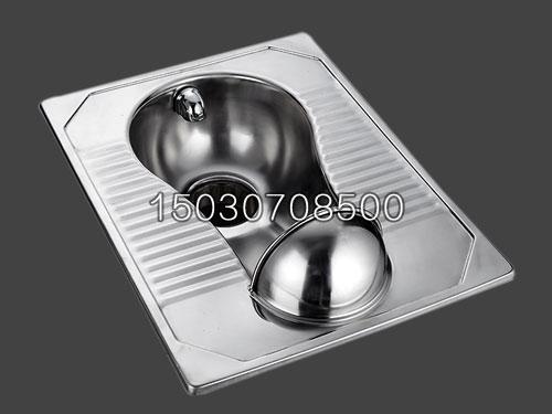 新凯不锈钢蹲便器 厕具带前档 性价比高