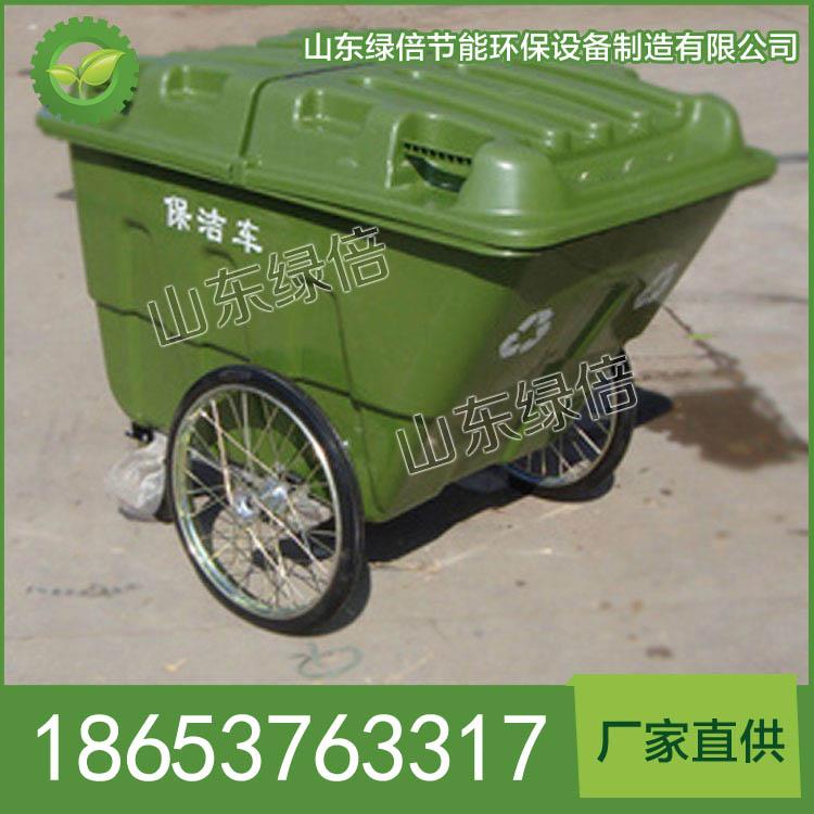 手推式塑料垃圾車 廠家直銷手推式塑料垃圾車 堅固耐用