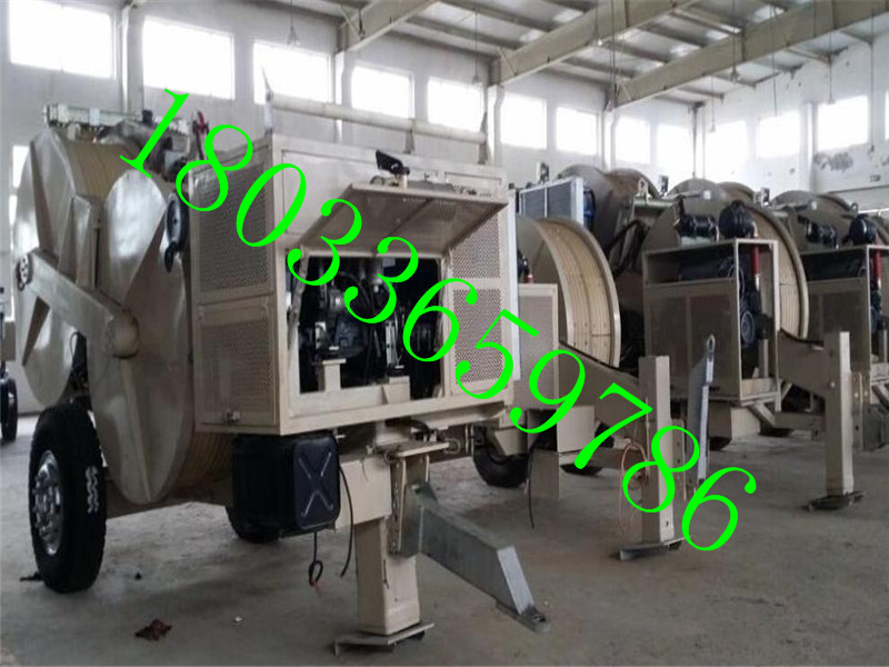 电力承修一二三四五级资质办理大型张力机180KN(4x4.5kn)
