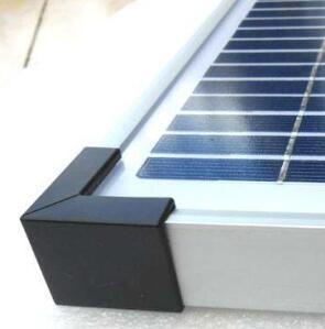 铝扣卡护角,25MM电池板角,30MM太阳能板角,35MM铝框包角,套,方形套,直角套