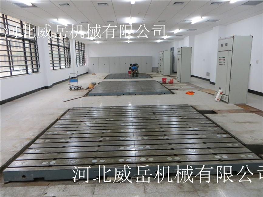 一炮而紅的電機試驗平臺鑄造工藝規程和正確使用方法