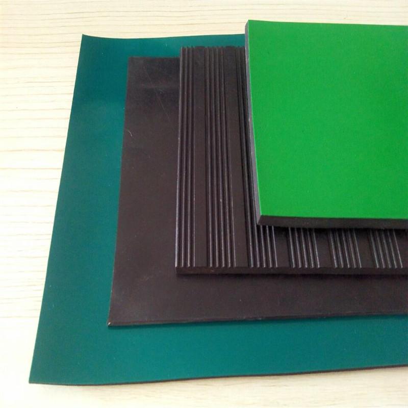 配电室专用绝缘胶板 绝缘胶皮 高压绝缘橡胶板
