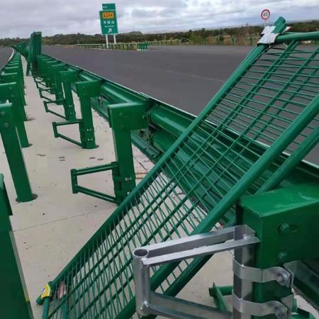 玻璃钢隔离栅 高速公路防撞护栏 玻璃钢防眩网