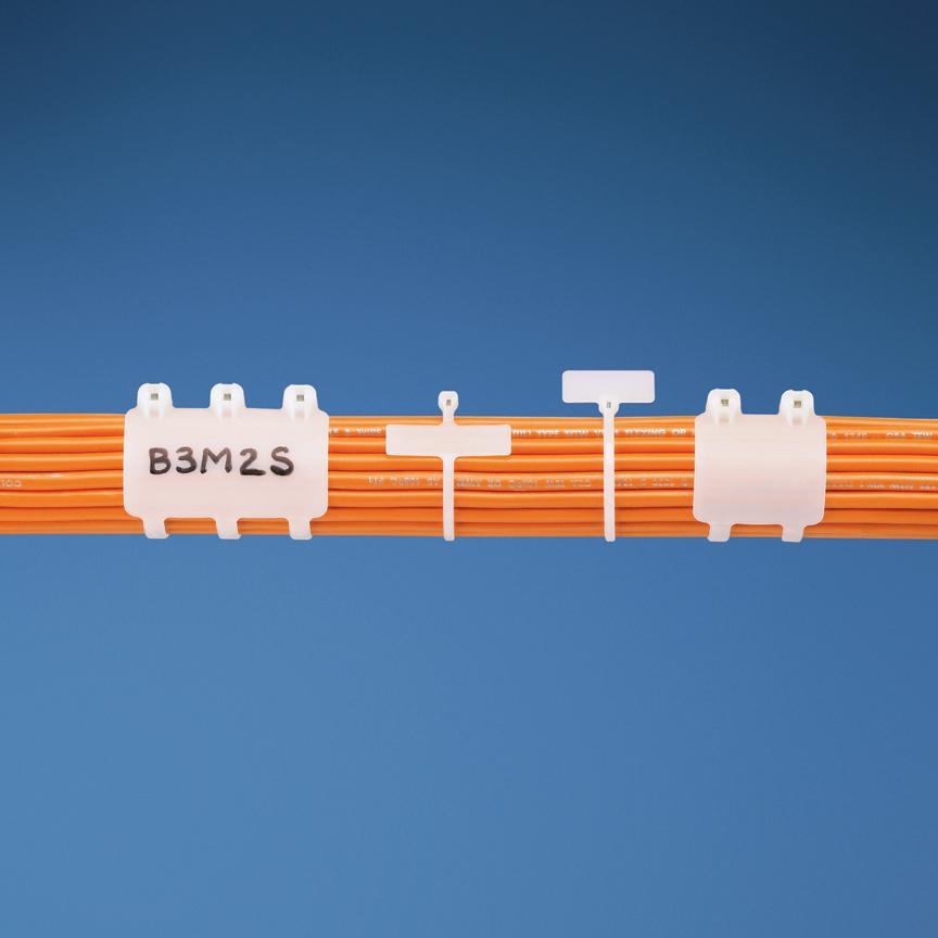 PLT1M-M0(Panduit)泛达耐候性尼龙66线缆扎带2.5*99mm