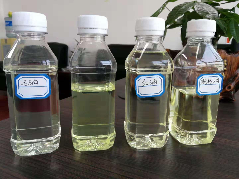 免酸洗不用硅膠沙白土廢油精煉技術