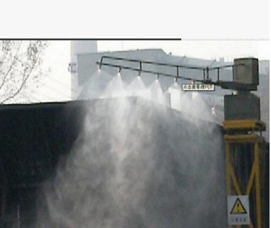 皮帶機干霧抑塵噴淋 廠房微米級干物抑塵設備