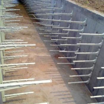 河北精创预埋式玻璃钢电缆支架_模压组合式电缆支架