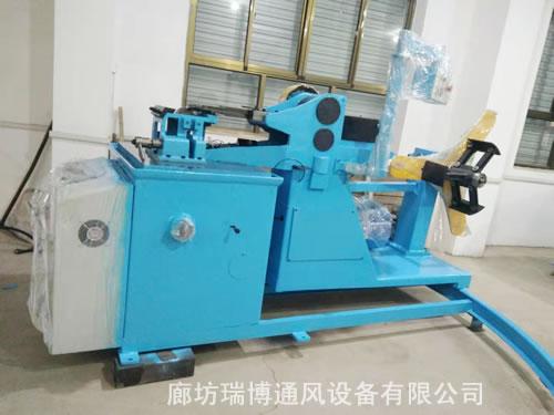 瑞博优质螺旋风管机供应 镀锌板螺旋风管机