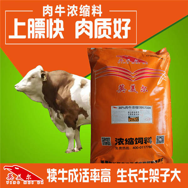 牛用濃縮飼料廠家批發牛羊濃縮飼料廠