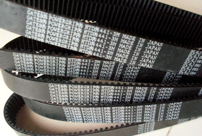 原裝美國蓋茨GATES HTD圓弧齒橡膠同步帶