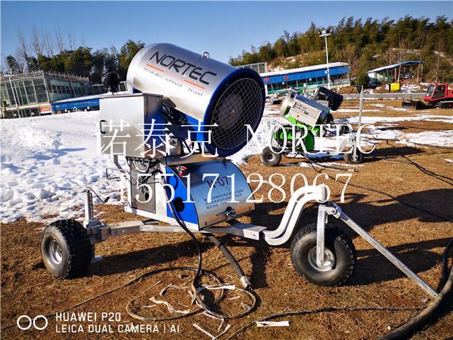 雪质绿色环保无危害的人工造雪机厂家 安徽国产造雪机