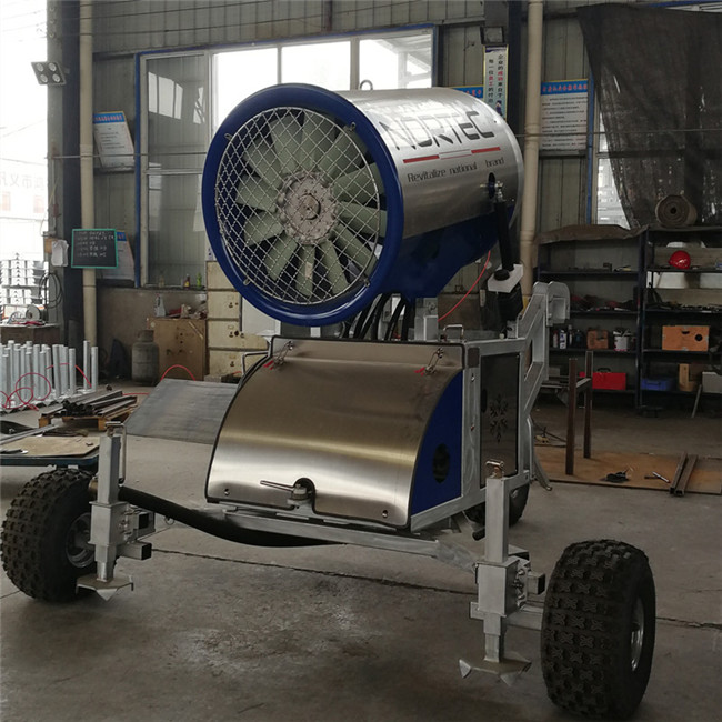 人工造雪机进行造雪所需条件 国产炮式造雪机生产厂家