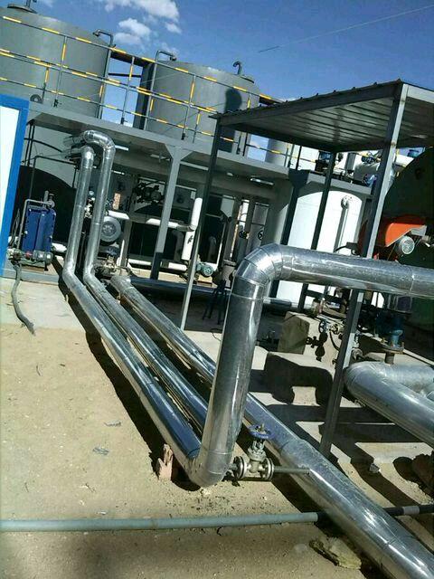 制冷设备管道保温工程防腐岩棉保温施工队