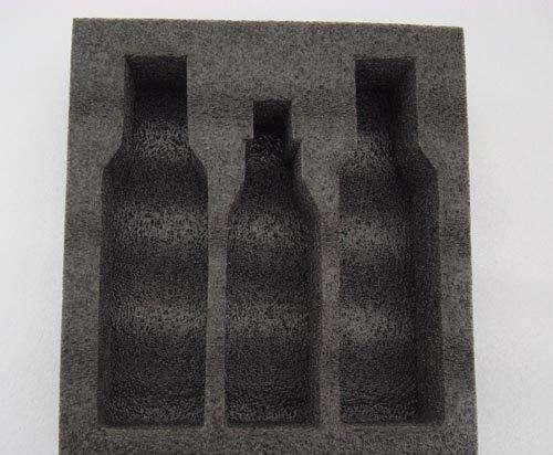 直销贵州黑色珍珠棉酒瓶定制运输包装