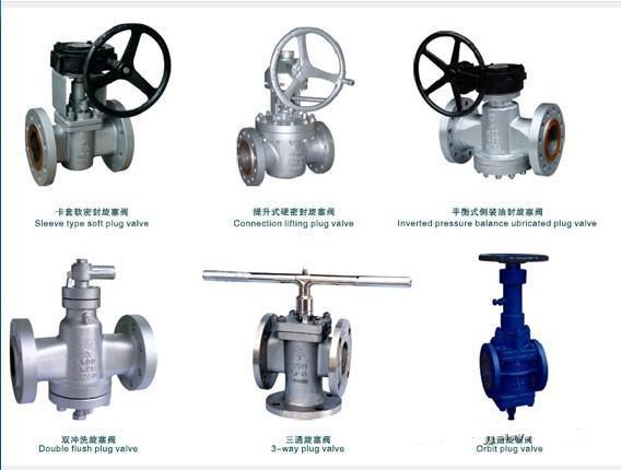 旋塞阀(plug valve)