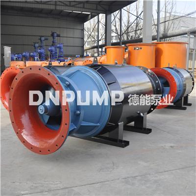 雪橇泵600QZB临时排水潜水轴流泵