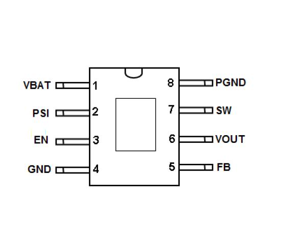 电源管理IC 5V 6A1.2MHz同步升压转换器IC TD8588