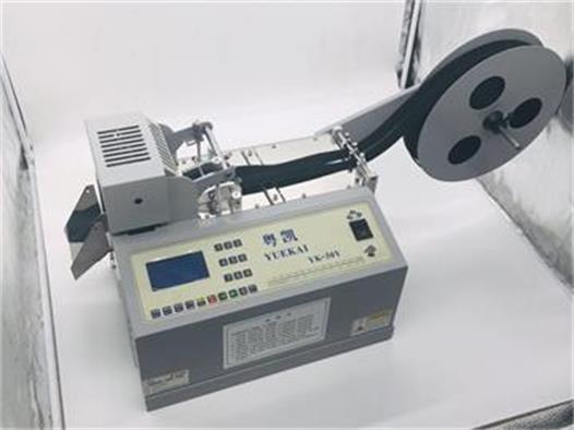 厂家直销高速钢丝带切带机 尼龙纤维带自动熔切机设备多功能