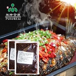 直銷三珍食品香辣味醬汁烤魚醬批發供應烤魚店