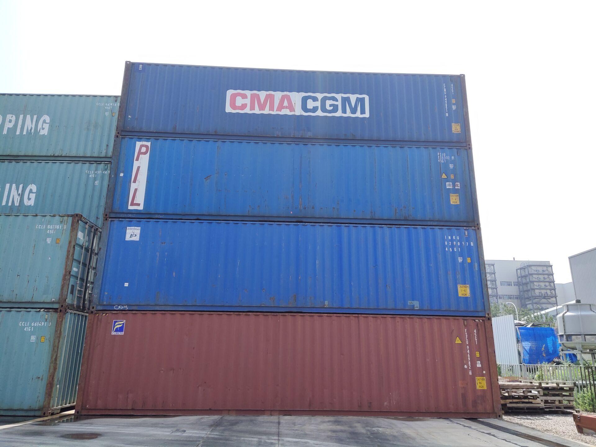 天津二手集装箱 标准海运集装箱 出口货柜 6米12米租赁、买卖