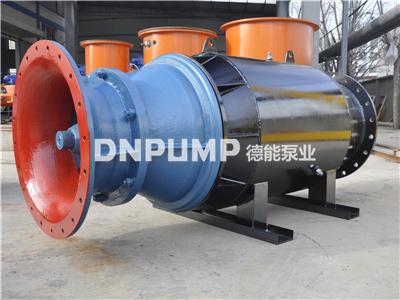 斜拉式500QZB轴流泵--雪橇式轴流泵