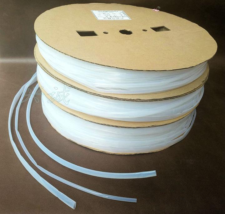 鐵氟龍熱縮管特氟龍聚四乙烯PTFE耐高溫耐腐蝕耐酸堿熱縮管