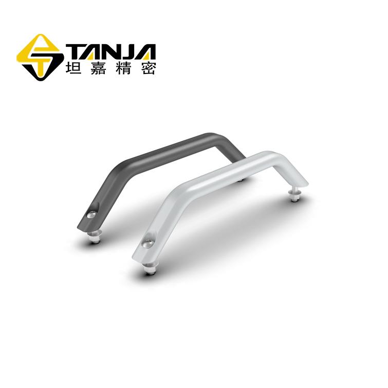 TANJA L32鋁合金陽極氧化五金把手 黑白兩色檢測儀器把手
