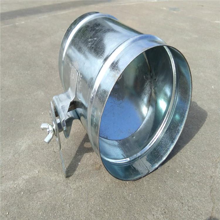 定做風管配件開關閥規格中山螺旋風管加工廠