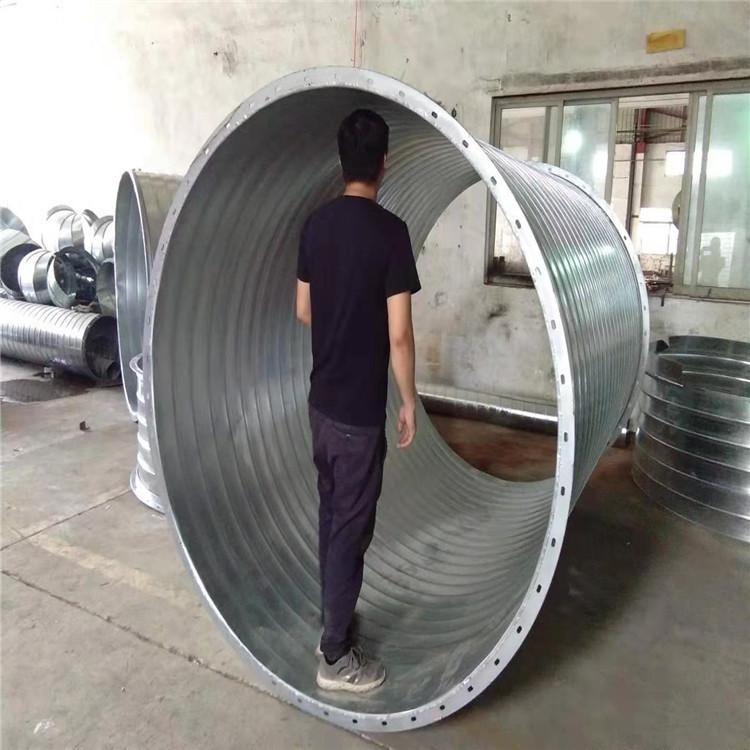 珠海通暢螺旋風管廠家專業大口徑風管經久耐用
