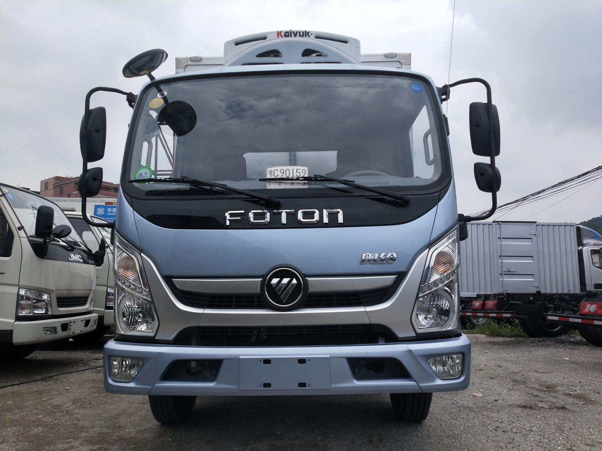 廠家直銷福田奧鈴4.2米冷藏車價格多少