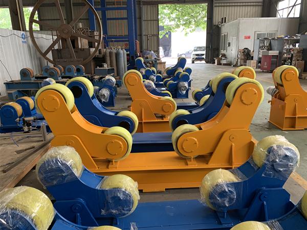 廠家直銷噸10噸絲桿焊接滾輪架無極變頻調速