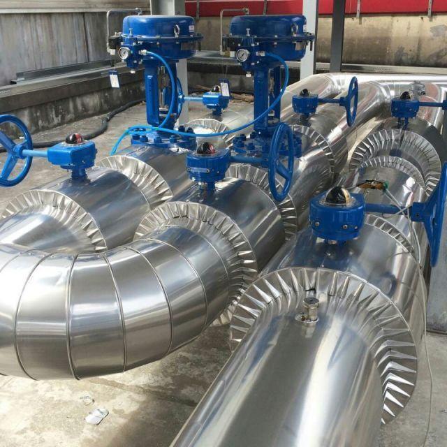 脱硫设备保温管道罐体防腐保温工程承包