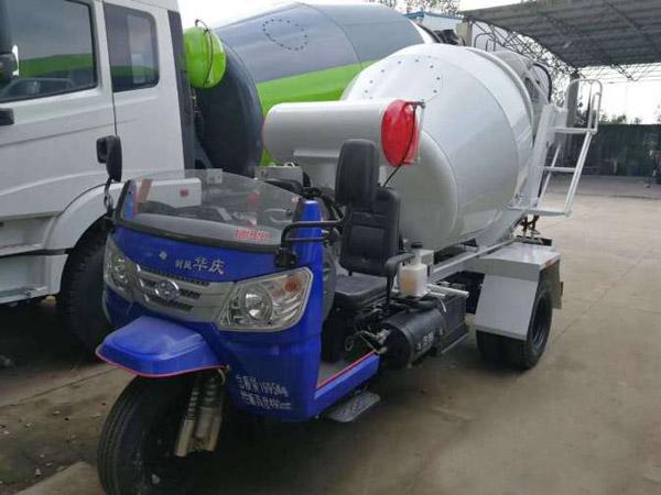 三輪攪拌車 混凝土運輸車 結實耐用 質量保證