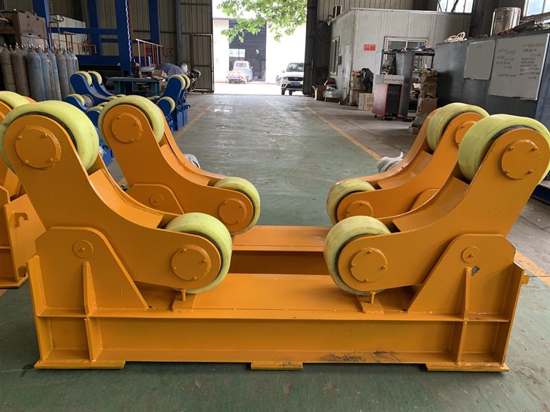 組對焊接滾輪架5噸10噸圓筒焊接滾輪支架