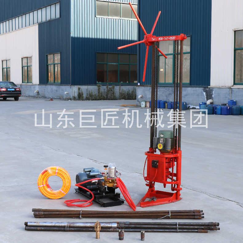 廠家直供岩心取樣鑽機15米勘探鑽機效率高淺層岩心鑽機