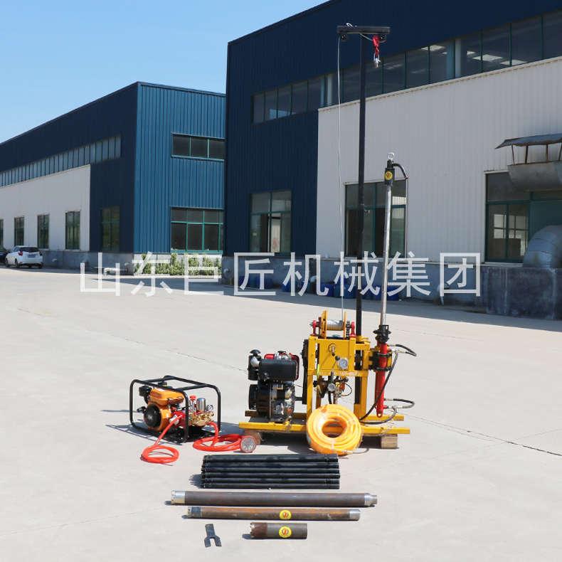 巨匠集团提供YQZ-50B型50米轻便取样钻机岩芯勘探钻机效率高