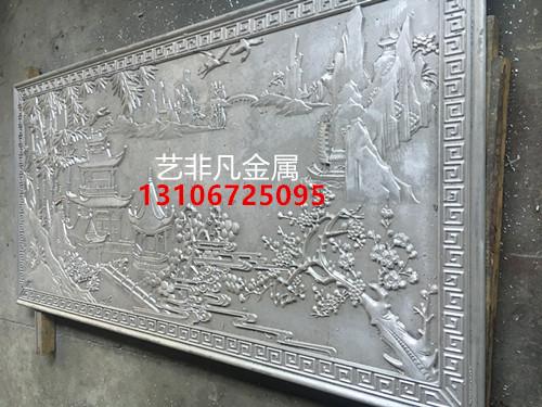 新乡铝艺浮雕艺术背景壁画 细节里的匠心