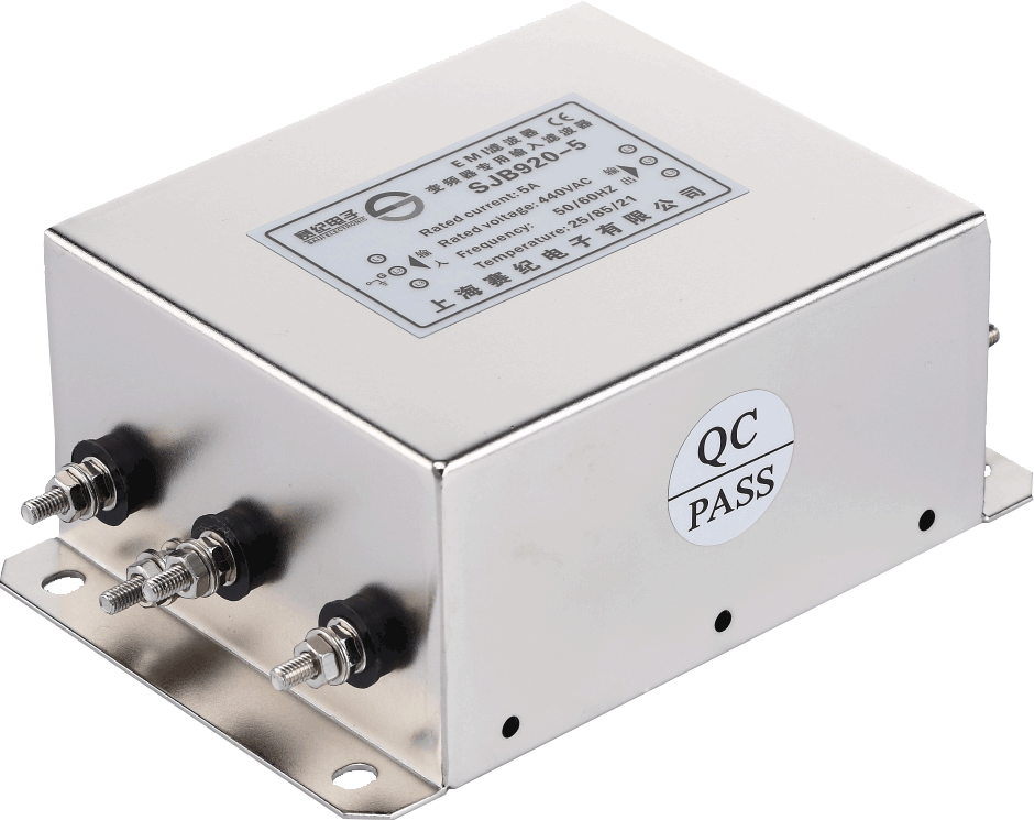 赛纪滤波器交流EMI/EMC电源380V变频伺服专用输入抗干扰