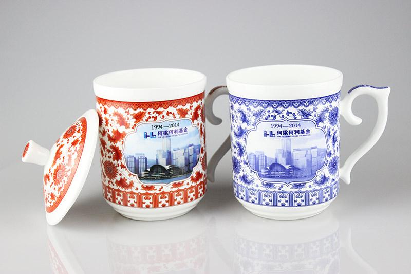 定制促销礼品茶杯送客户