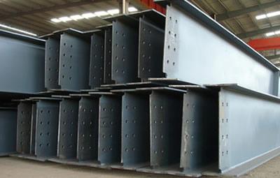 敬业集团Q355焊接工艺H型钢钢结构厂家按图加工生产
