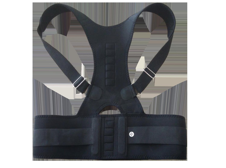 奧非特 批發 B002B磁石腰背坐姿矯姿支撐固定彈力矯正帶 廠家直銷