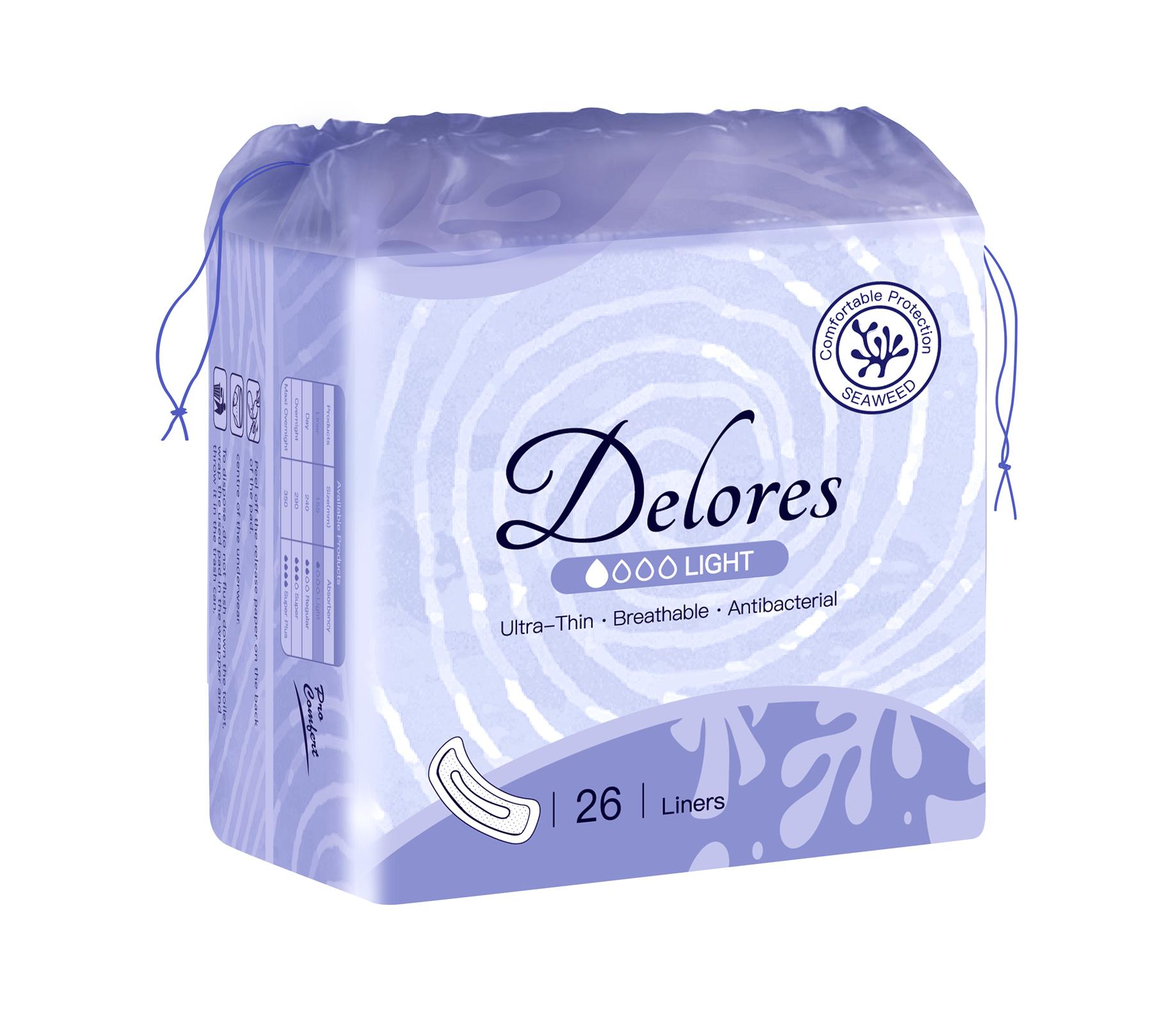 Delores纯棉卫生巾
