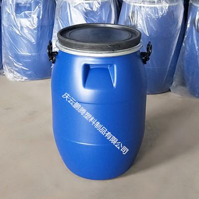 60L塑料桶大口密封60升塑料桶法兰桶
