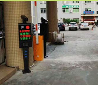 商場車輛自動識別設備
